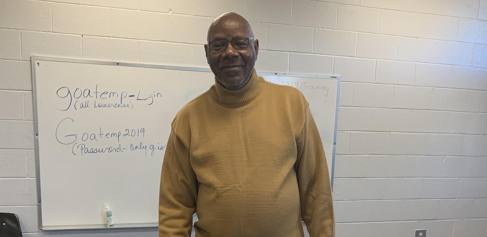 GOA Adult Education salutes Mr. Calvin Smith