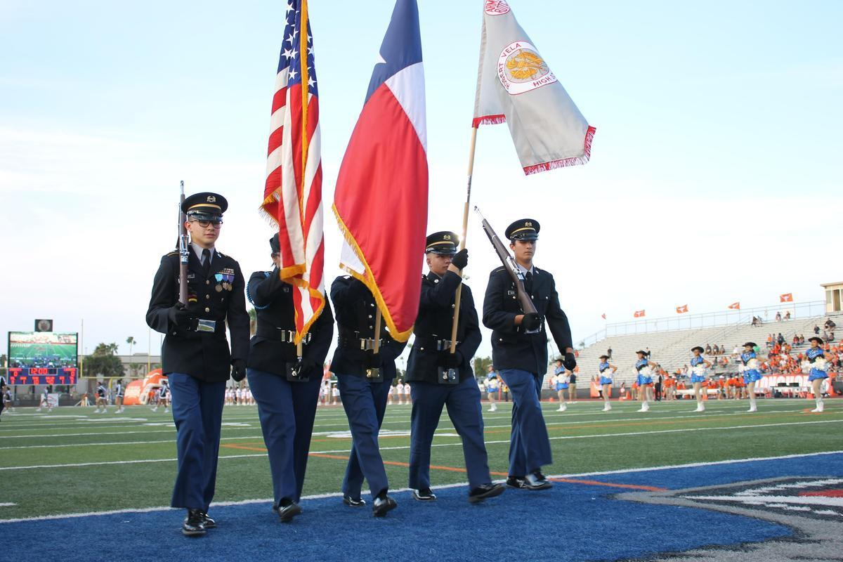 Football Game Color Guard
