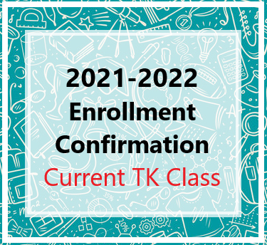 2021-2022 Placer TK Enrollment Confirmation Featured Photo