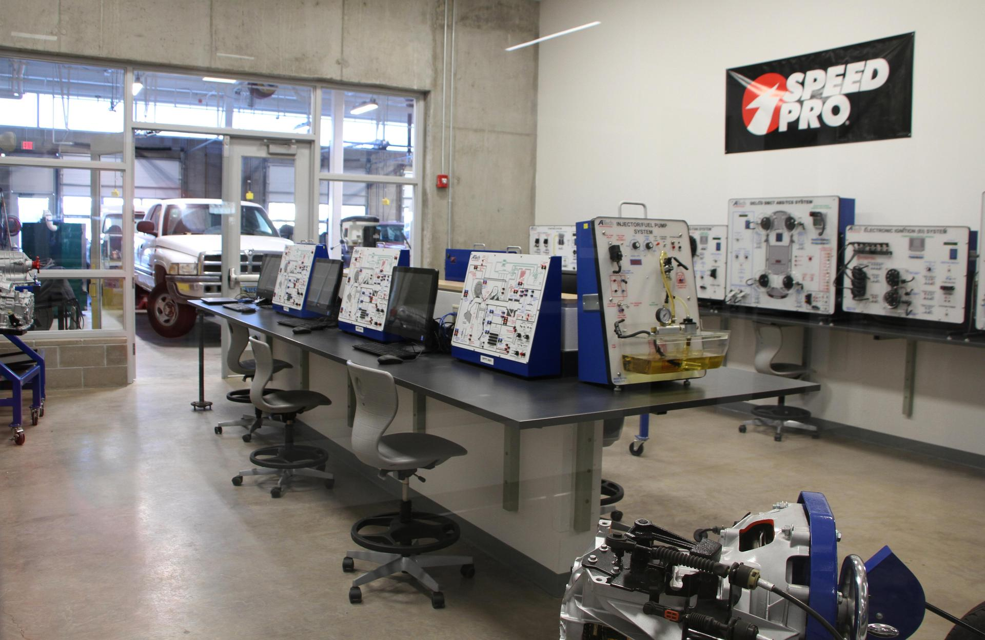 auto shop at Pathway Innovation Center