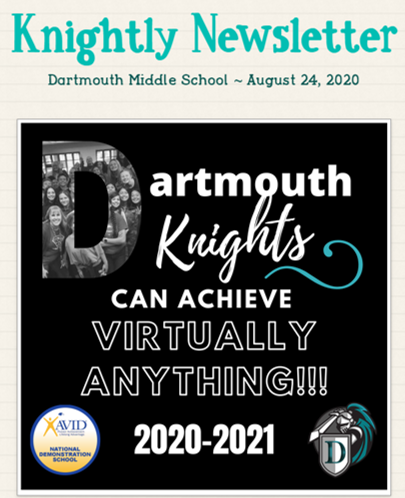 Knightly Newsletter - August 24th