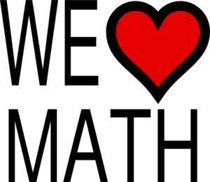 WE LOVE MATH!!