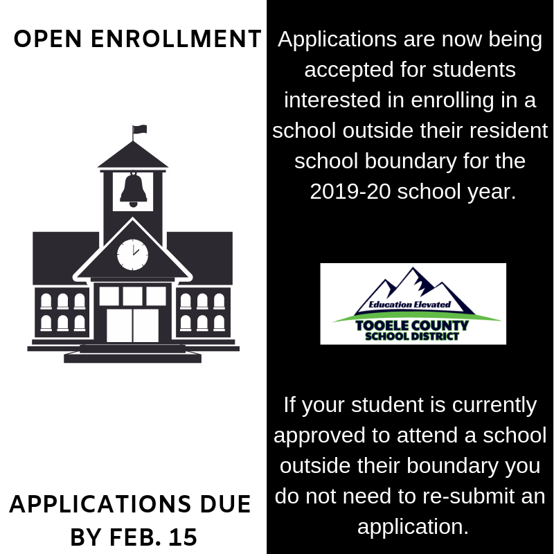 Open enrollment applications due by Feb. 15 Thumbnail Image