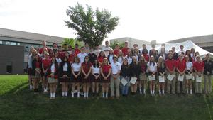 NHS Inductees North Catholic High School