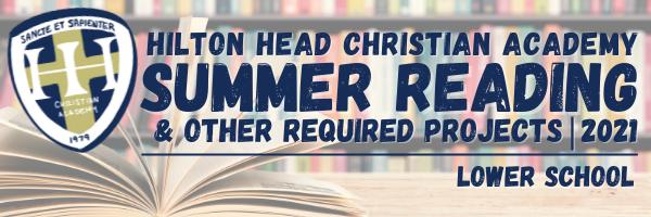 Lower School Summer Reading