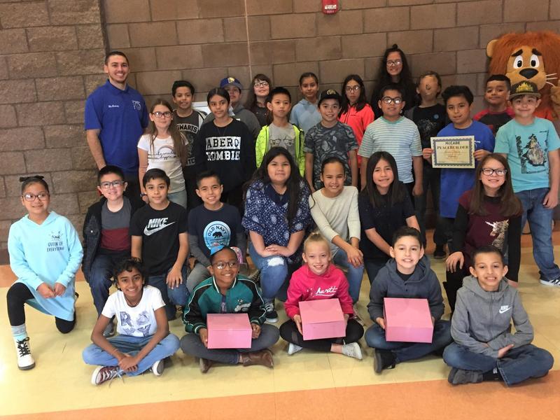 Highest Attendance for January 2019 ~ Mr. Binkinz' Class (4th grade) Thumbnail Image