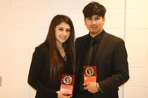 Granger Students with awards