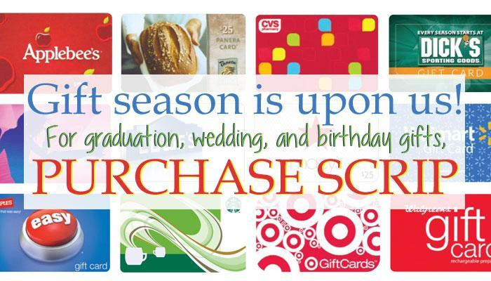 Buy gift cards from virtually any retailer - including local ShopRite and Wawa stores - through our Holy Spirit High School Scrip Program and earn tuition ...