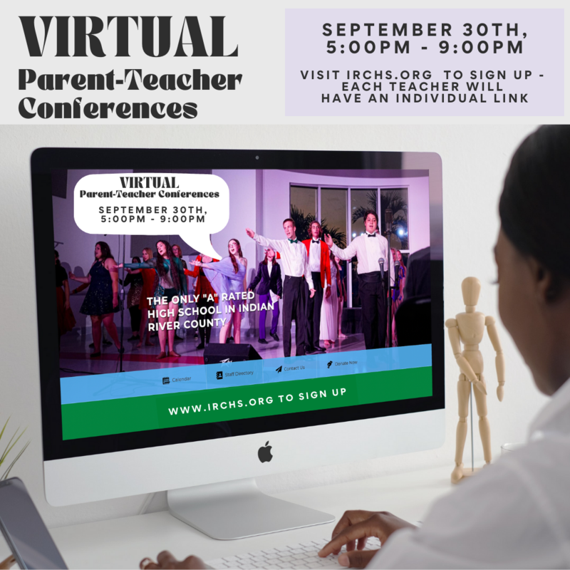 SCHEDULE HERE Virtual Parent-Teacher Conferences - 9/30/21 Featured Photo