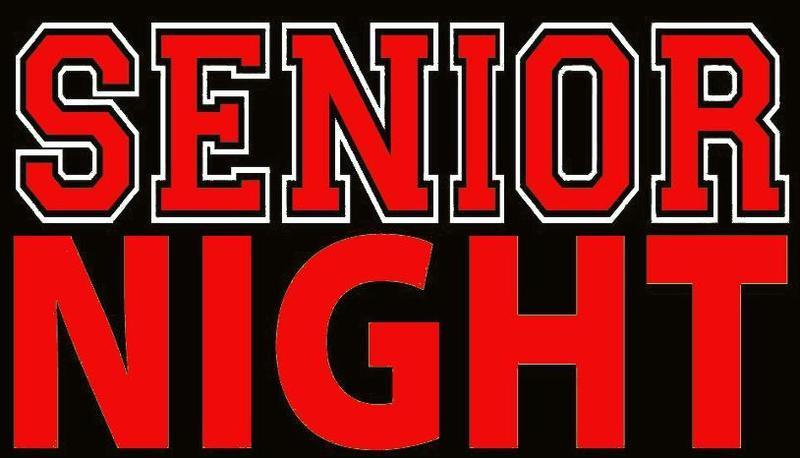 senior night logo