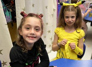Photo of McKinley students dressed up for Halloween.