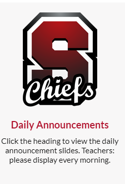 S Chiefs Announcements