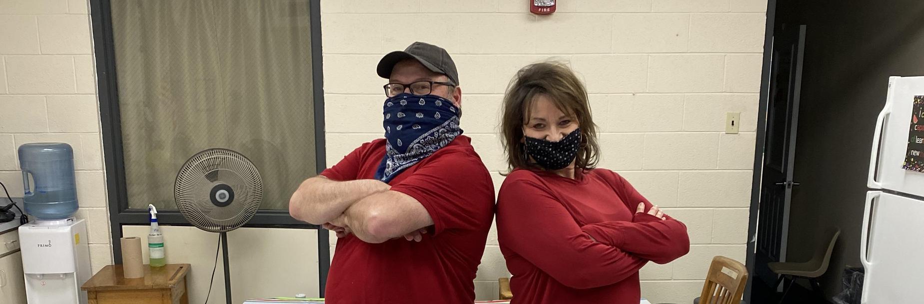Mr Henderson and Mrs Rhodus
