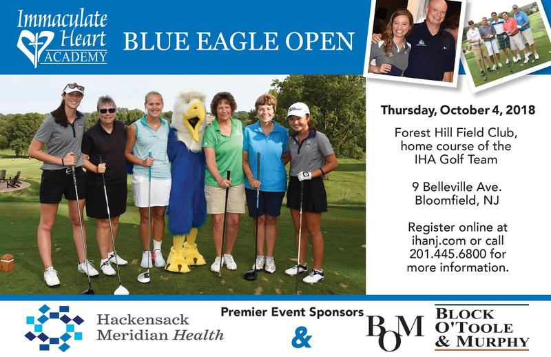 Save the Date! Blue Eagle Open - Oct. 4 Thumbnail Image