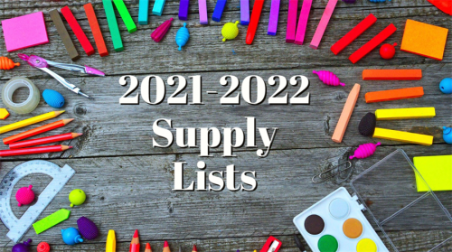 2021/22 Classroom Supply List Featured Photo