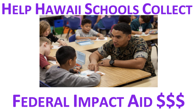 Help Waimea Canyon Middle School collect Federal Impact Aid $$$ Thumbnail Image