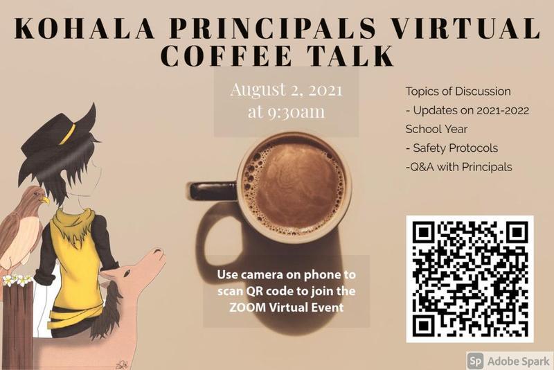 August 2021 Principal Coffee Talk