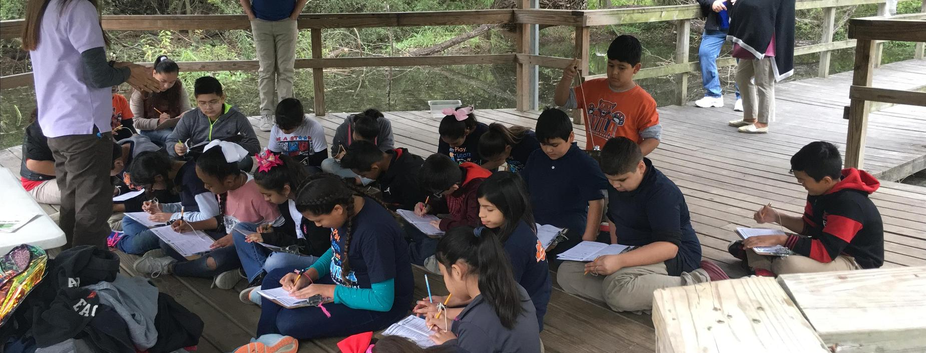 5th grade wetlands science field trip