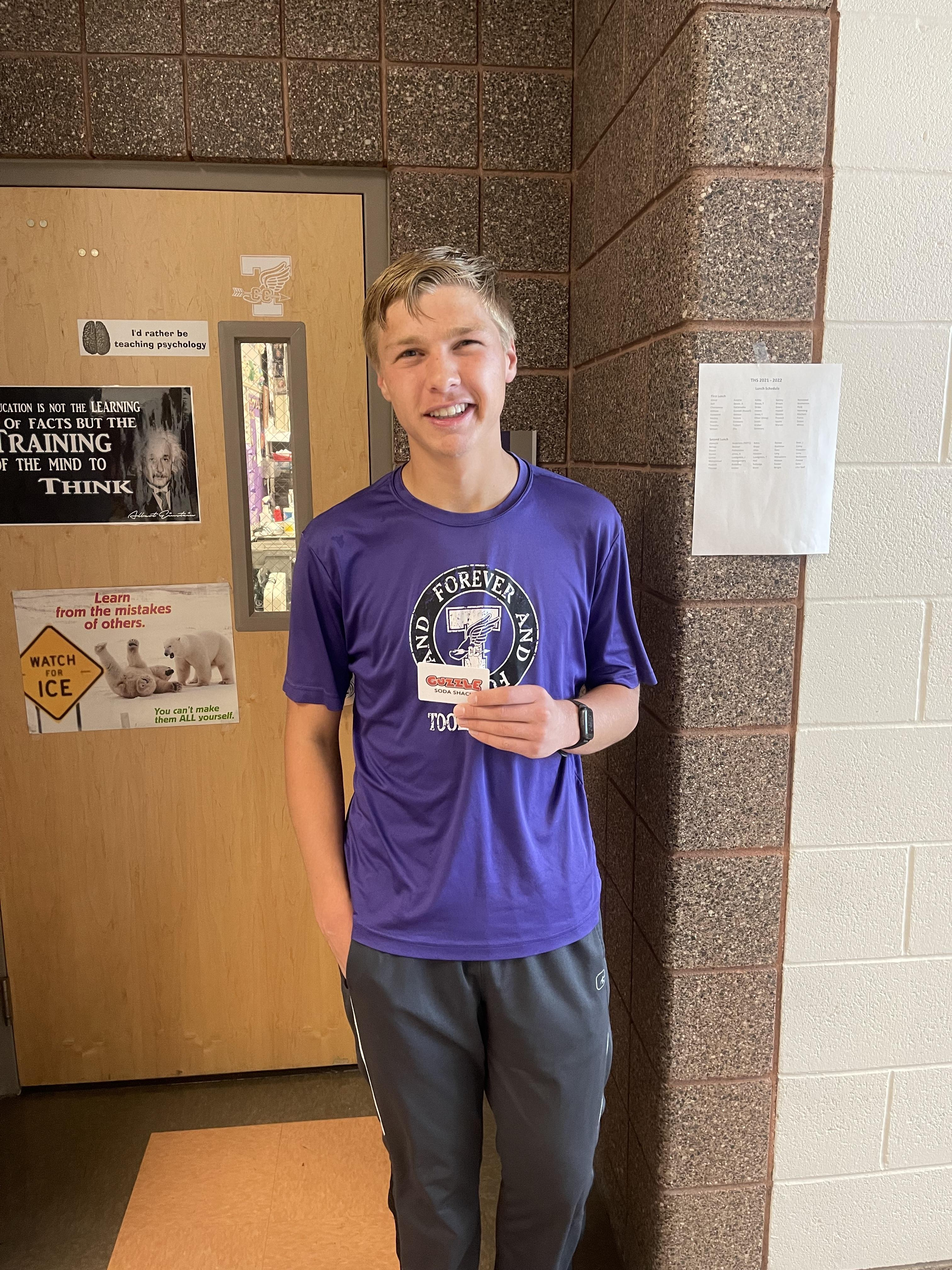 Purple Student of the Week