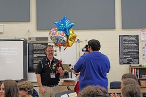 Hough band director Robert Carrington is FOX 46's Teacher Getting Results.