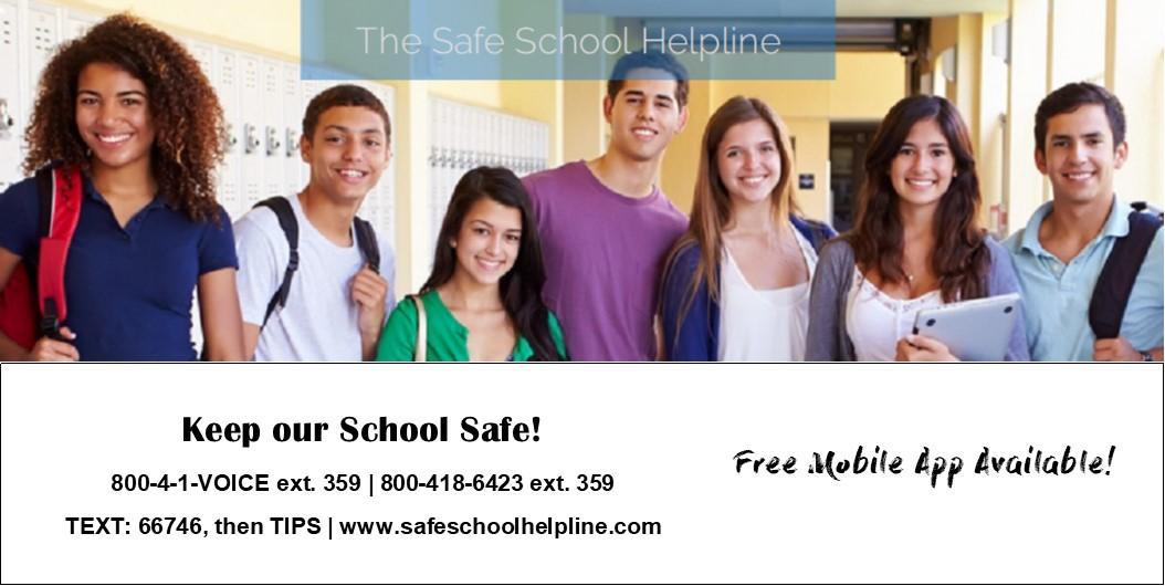 Safe Schools Helpline