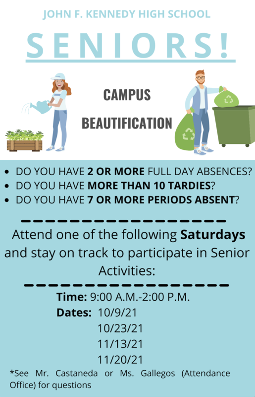 Seniors...Do you have 2 or more Full Day Absences? Do you have more than 10 Tardies? Featured Photo