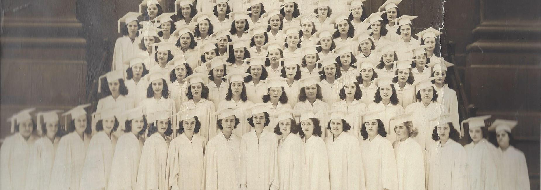 The Graduating Class of 1941