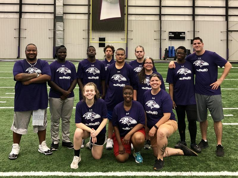 PLAY 60 All-Abilities Football Clinic Featured Photo