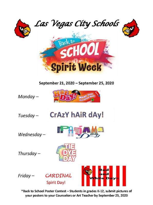 Back To School Spirit Week
