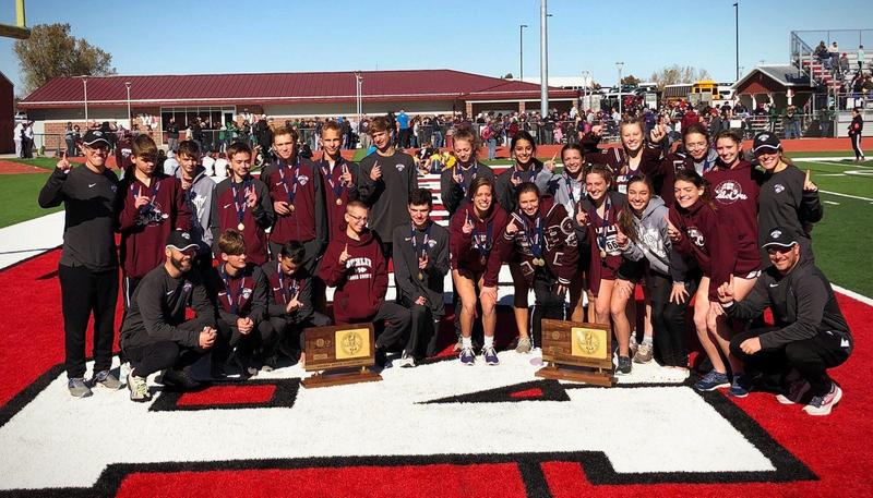 Boys and Girls Cross Country Teams Win State Thumbnail Image