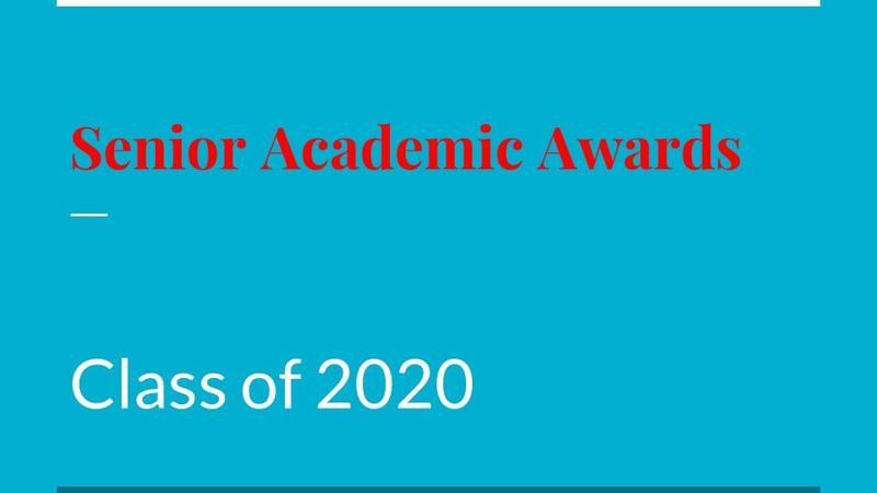 2020 Senior Academic Awards Featured Photo