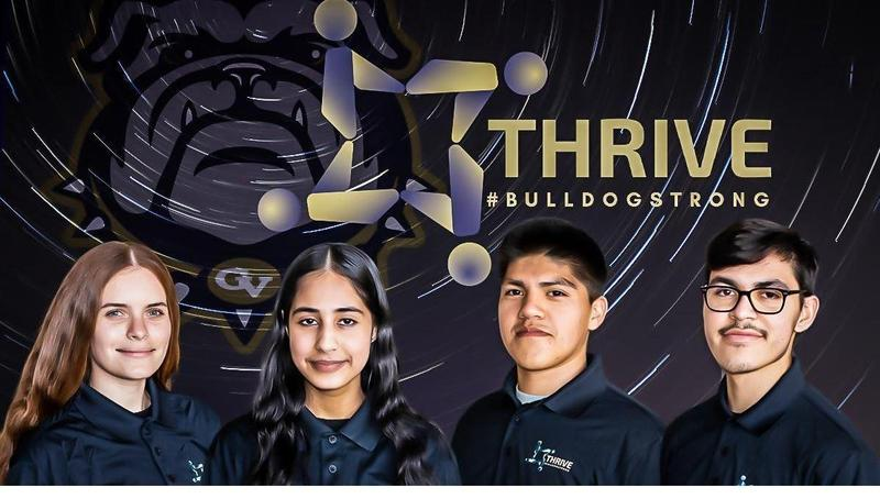 Golden Valley High School students create a peer led support group called THRIVE.