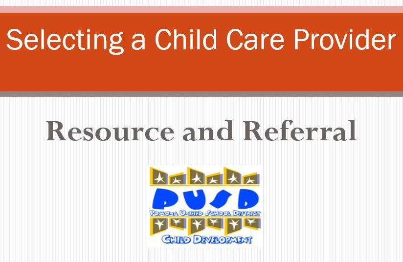 Selecting a Child Care Provider Video
