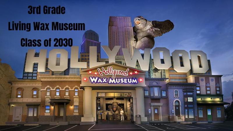 2020-2021 3rd grade Wax Museum Thumbnail Image