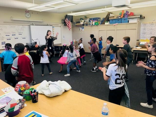 Teacher Student Dance