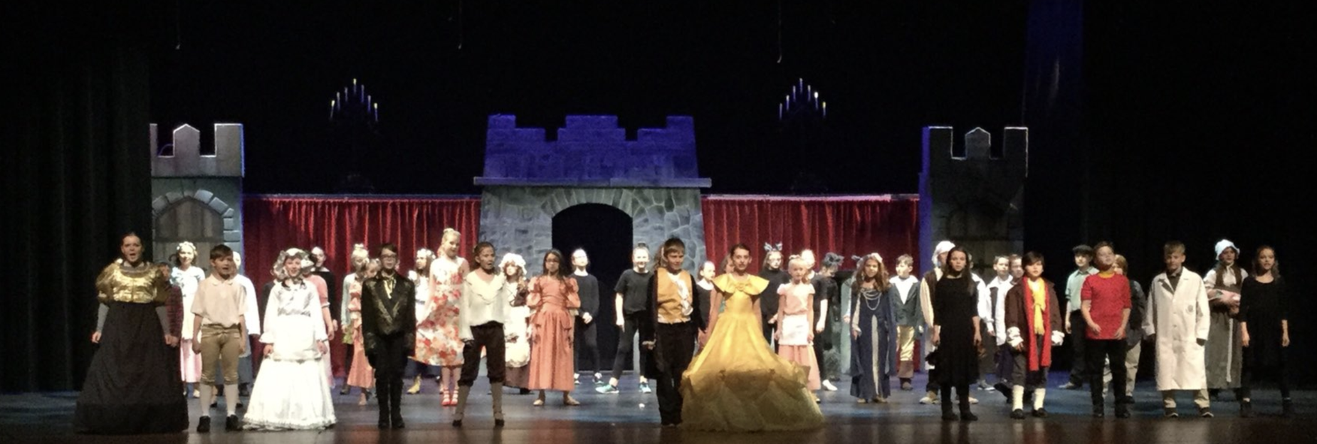 Curtain Call for CCIS Beauty and the Beast