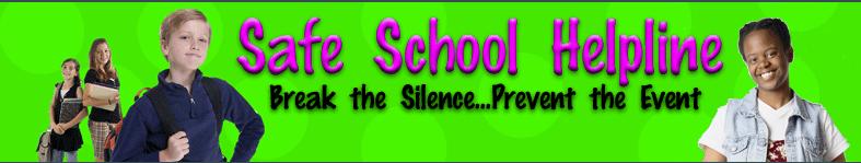 Safe School Banner