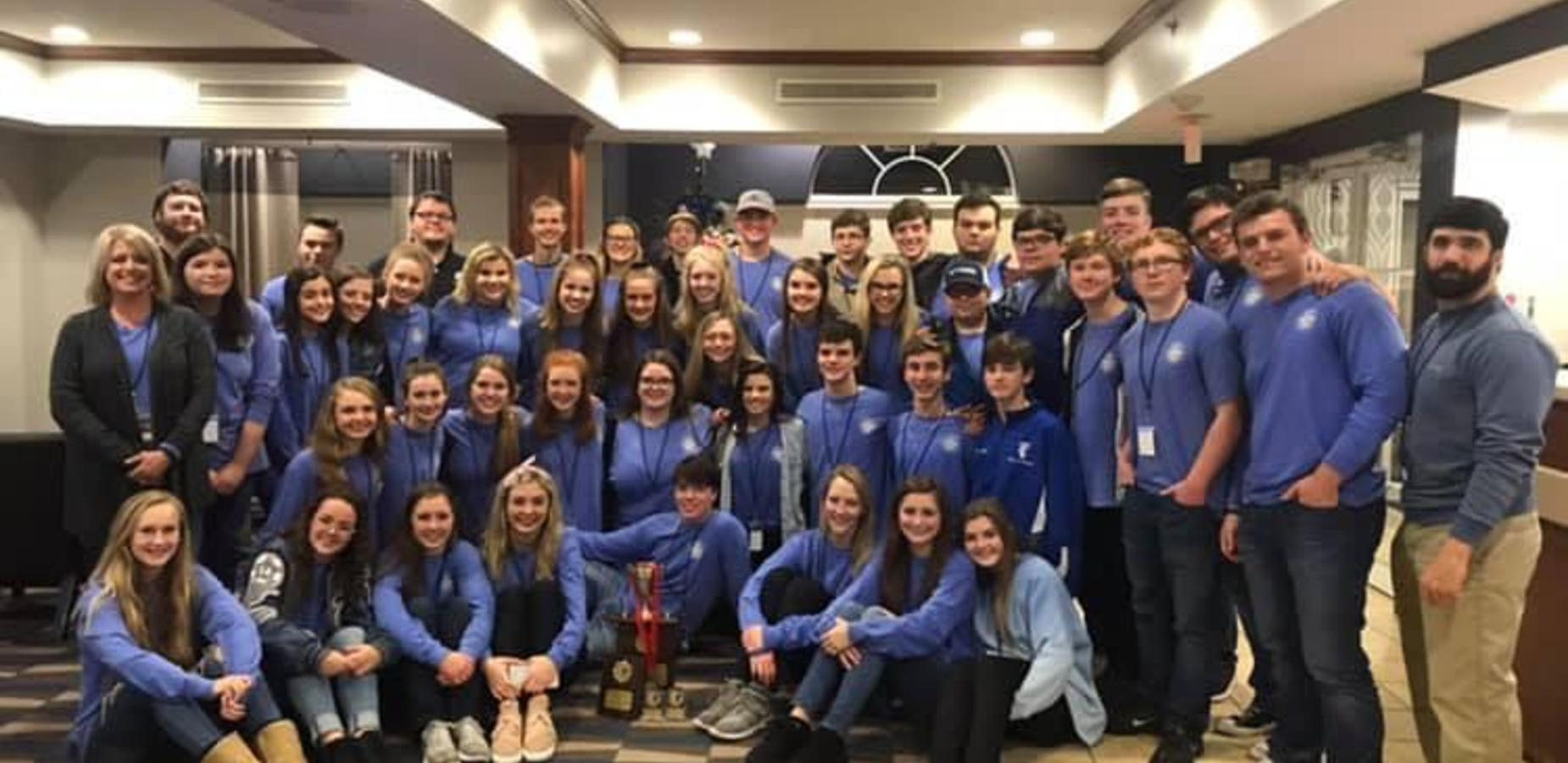 TCHS BRAVADA Advances to the State Drama Competition!