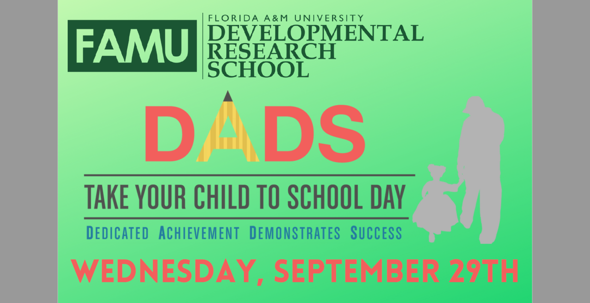 DADS Take Your Child to Work Day Flyer