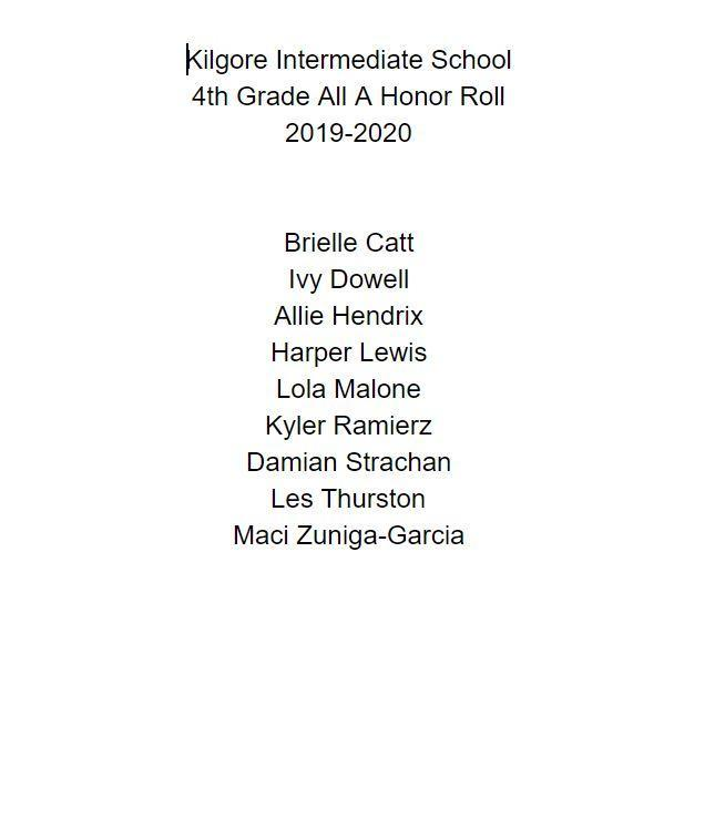 All A Honor Roll Featured Photo