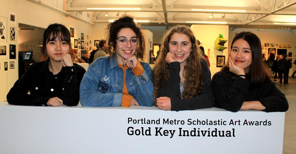 Scholastic Art Award Gold Key winners
