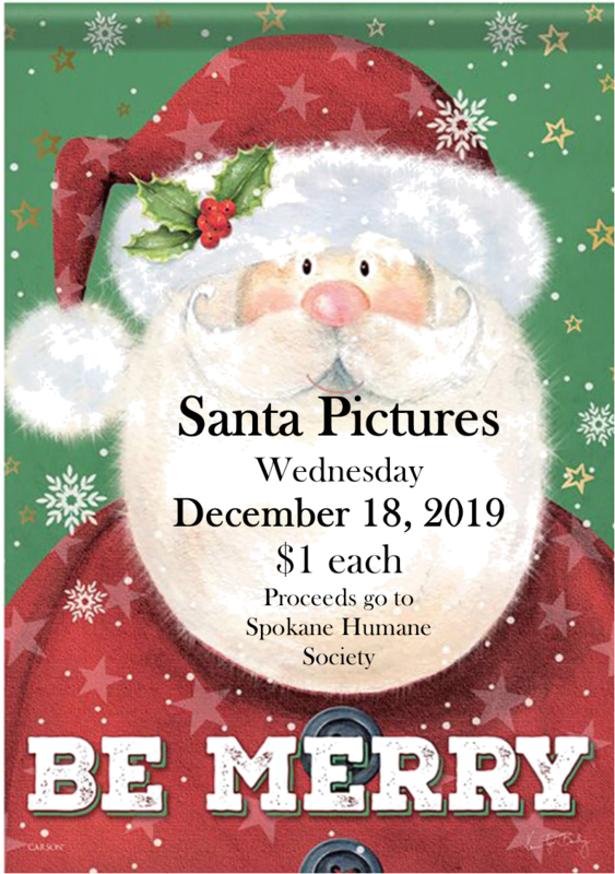 Santa Pictures Flyer