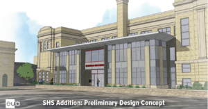SHS preliminary design for addition