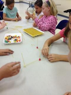 Students Using Beads