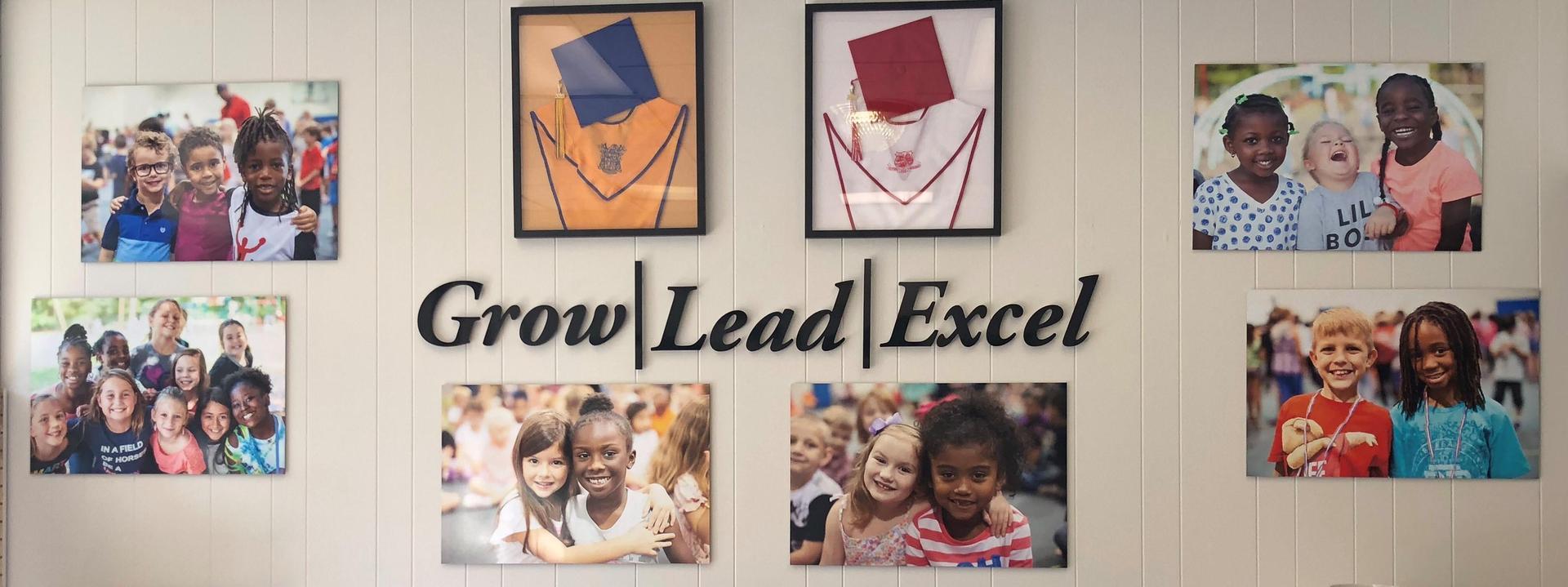 Grow.Lead.Excel. Diagram