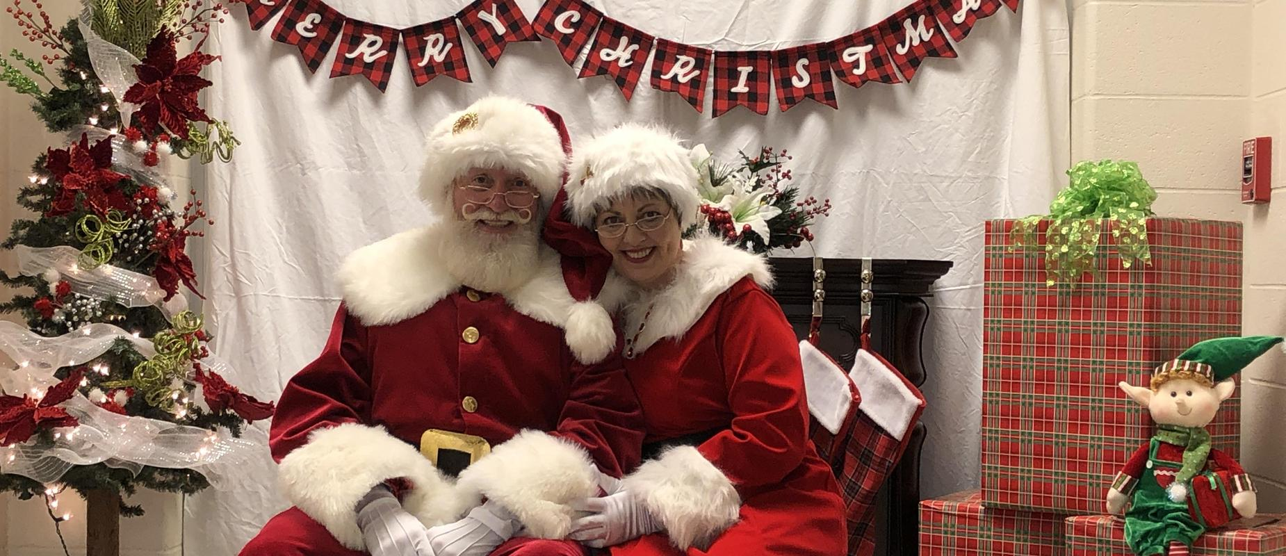 Santa & Ms. Clouse