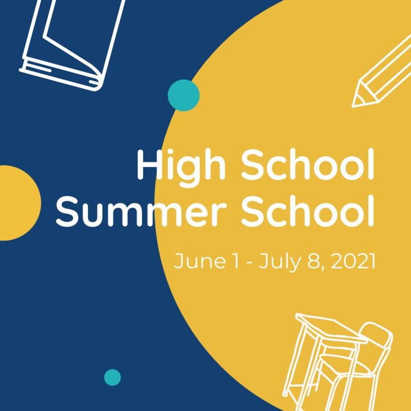 High School Summer School Information Featured Photo