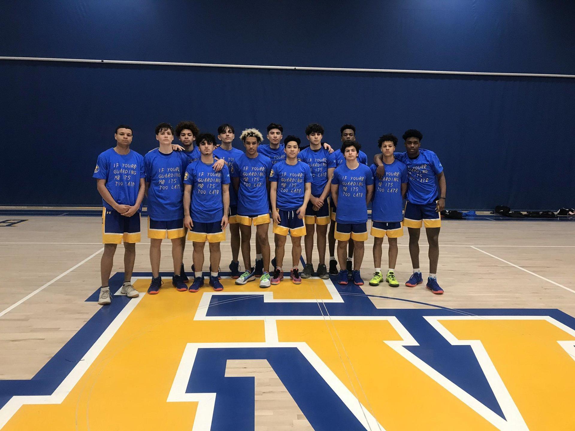 2019 2020 Varsity Boys Basketball Team