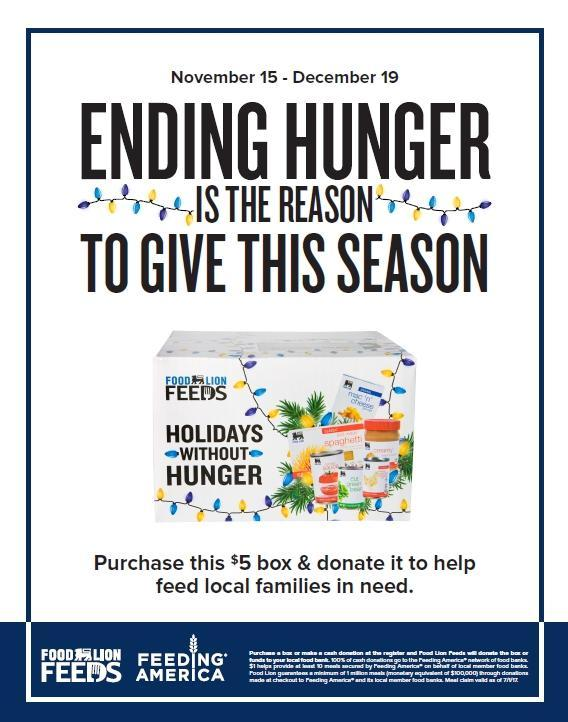 Food Lion Feeds Campaign