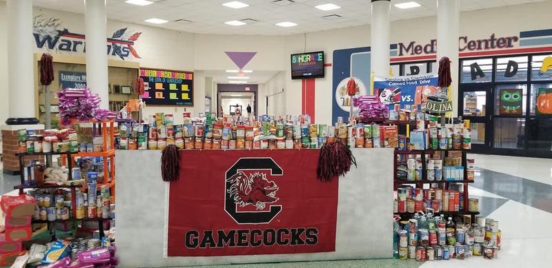 Carolina vs Clemson Canned Food Drive Featured Photo